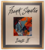 "Leroy Neiman Signed Frank Sinatra ""The Classic Duets"" 43x49 Custom Framed Original Acrylic Commercial Sign (PSA COA)"