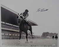 Ron Turcotte Signed 16x20 Photo (JSA COA)