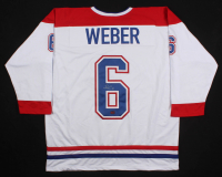 Shea Weber Signed Montreal Canadiens Captain Jersey (Weber COA)