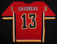 Johnny Gaudreau Signed Calgary Flames Jersey (Gaudreau COA)