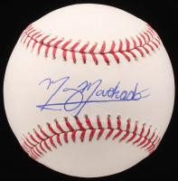 Manny Machado Signed OML Baseball (PSA COA)