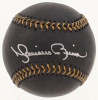 Mariano Rivera Signed OML Black Leather Baseball (Steiner COA) at PristineAuction.com