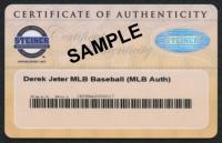 Mariano Rivera Signed OML Black Leather Baseball (Steiner COA) at PristineAuction.com