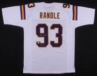 "John Randle Signed Minnesota VIkings Jersey Inscribed ""HOF 10"" (JSA COA) at PristineAuction.com"