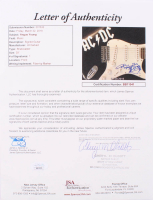 "Angus Young Signed 39"" AC/DC Electric Guitar with Hand-Drawn Sketch (JSA LOA) at PristineAuction.com"