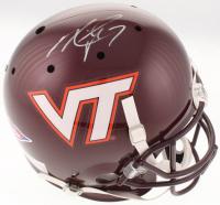 Michael Vick Signed Virginia Tech Hokies Full-Size Helmet (JSA COA) at PristineAuction.com