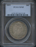 1829 50¢ Capped Bust Half Dollar (PCGS XF 45)