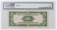 1934-A $500 Five Hundred Dollars Federal Reserve Note (PMG 30) at PristineAuction.com