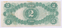 1917 $2 Two Dollars Legal Tender Large Bank Note at PristineAuction.com
