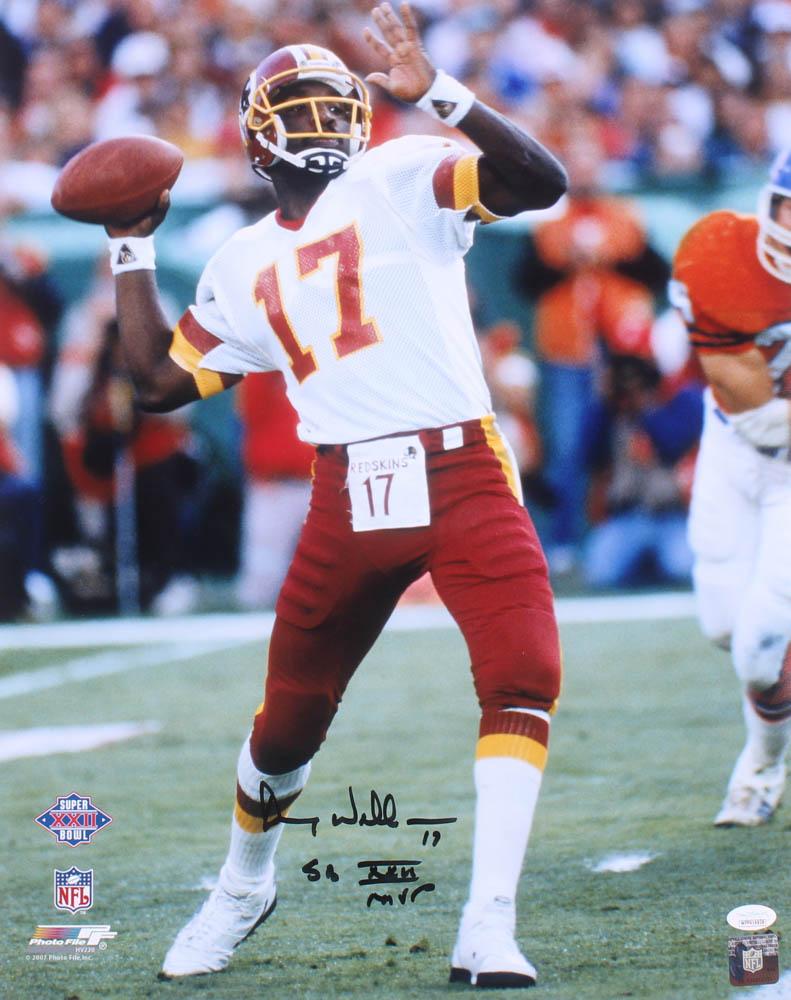 b502ee4a Doug Williams Signed Washington Redskins 16x20 Photo Inscribed
