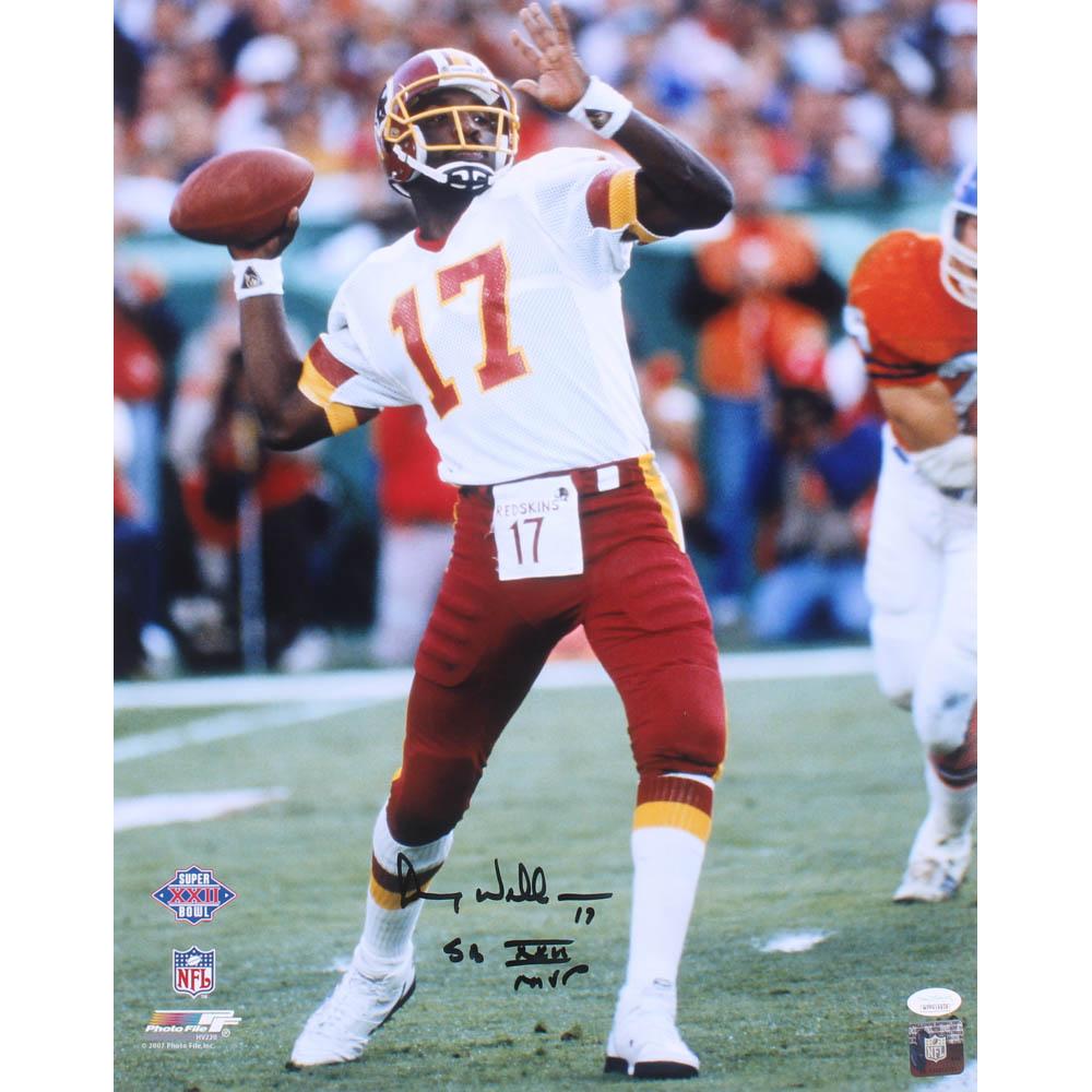 e03fab6c Doug Williams Signed Washington Redskins 16x20 Photo Inscribed