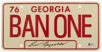 "Burt Reynolds Signed ""Smokey and the Bandit"" Georgia License Plate (Beckett COA) at PristineAuction.com"