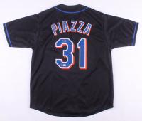 Mike Piazza Signed Jersey (Dave & Adams COA & JSA Hologram)