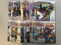 "Lot of (27) 1997-1999 Marvel ""Uncanny X-Men"" 1st Series Comic Books with #350-375"