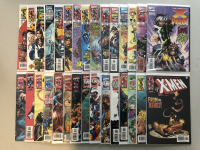 """Lot of (30) 1997-1999 Marvel """"Uncanny X-Men"""" 1st Series Comic Books with #353-393"""