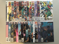 """Lot of (29) 1996-2005 Marvel """"Uncanny X-Men"""" 1st Series Comic Books with #330-463"""