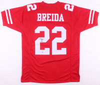 Matt Breida Signed Jersey (Beckett COA) at PristineAuction.com