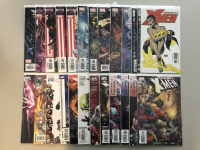 """Lot of (24) 2002-2009 Marvel """"Uncanny X-Men"""" 1st Series Comic Books with #408-516"""
