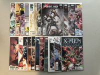 """Lot of (22) 2002-2009 Marvel """"Uncanny X-Men"""" 1st Series Comic Books with #522-544 Annual #2011"""