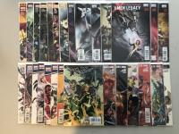 "Lot of (54) 2004-2012 Marvel ""X-Men / X-Men Legacy"" 1st Series Comic Books with #157-275"