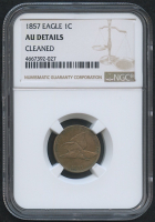 1857 1¢ Flying Eagle Cent (NGC AU Details) at PristineAuction.com