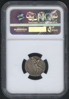 BC 108/7 Roman Republic - M. Herennius - AR Denarius Coin (NGC AU) at PristineAuction.com