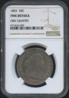 1803 50¢ Draped Bust Half Dollar (NGC Fine Details)