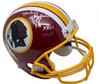 "Mark Rypien Signed Washington Redskins Full-Size Helmet Inscribed ""Super Bowl XXVI MVP"" (JSA COA)"