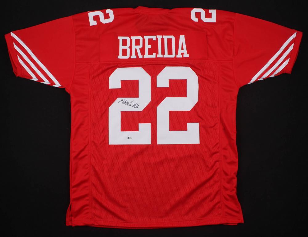 25d30232edf6 Matt Breida Signed San Francisco 49ers Jersey (Beckett COA)