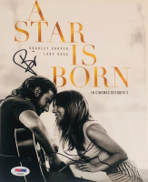 "Lady Gaga & Bradley Cooper Signed ""A Star Is Born"" 8x10 Photo (PSA LOA)"
