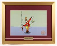 "Walt Disney's Goofy LE ""How to Fish"" 15x19 Custom Framed Animation Serigraph Display"