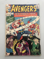 """1964 """"The Avengers"""" First Series Issue #7 Marvel Comic Book"""