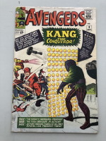 "1964 ""The Avengers"" First Series Issue #8 Marvel Comic Book at PristineAuction.com"