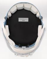 Dak Prescott, Amari Cooper, & Ezekiel Elliot Signed Cowboys Full-Size Blaze Speed Helmet (Beckett COA) at PristineAuction.com