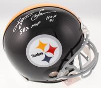 "Lynn Swann Signed Steelers Full-Size Authentic On-Field Helmet Inscribed ""SBX MVP"" & ""HOF 01"" (JSA COA) at PristineAuction.com"