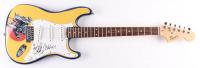 """Rob Halford & Ian Hill Signed 39.5"""" Custom Judas Priest Logo Electric Guitar (PSA Hologram) at PristineAuction.com"""