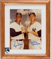 Mickey Mantle & Roger Maris Signed New York Yankees 12x14 Custom Framed Photo Display (PSA LOA)