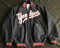 Mickey Mantle Signed New York Yankees Mitchell & Ness Warm-Up Jacket (JSA LOA)