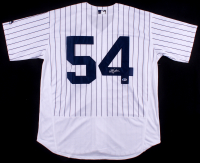 Aroldis Chapman Signed New York Yankees Jersey (Beckett COA)