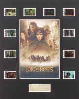 """""""The Lord of the Rings: The Fellowship of the Ring"""" Limited Edition Original Film / Movie Cell Display"""