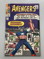 """1965 """"The Avengers"""" First Series Issue #16 Marvel Comic Book"""