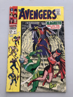 """1967 """"The Avengers"""" First Series Issue #47 Marvel Comic Book"""