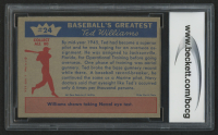 1959 Fleer Ted Williams #24 1945 Sharpshooter (BCCG 9) at PristineAuction.com