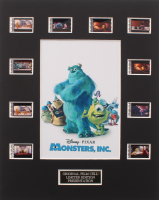 """""""Monsters, Inc."""" LE 8x10 Custom Matted Original Film / Movie Cell Display"""