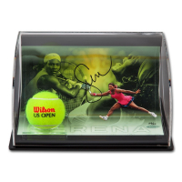 Serena Williams Signed 5.5x7x11 Custom Framed Limited Edition Curve Photo Display (UDA COA) at PristineAuction.com