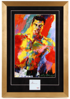 Muhammad Ali Signed 16x23 Custom Framed Cut Display (PSA LOA)