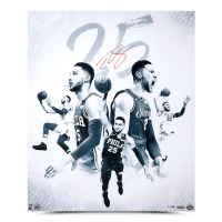 "Ben Simmons Signed Philadelphia 76ers ""25 Blue"" 20x24 Limited Edition Photo (UDA COA) at PristineAuction.com"