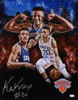 Kevin Knox Signed New York Knicks 16x20 Photo (JSA COA)
