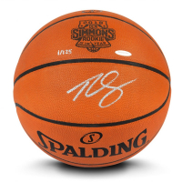 Ben Simmons Signed Limited Edition Spalding 2018 Rookie of the Year Basketball (UDA COA) at PristineAuction.com