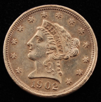 1902 Liberty Head $2.5 Two and a Half Gold Coin